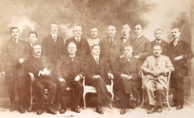 Fotografie a Consiliului Dirigent al Transilvaniei, 1918-1919 – Muzeul  Virtual al Unirii