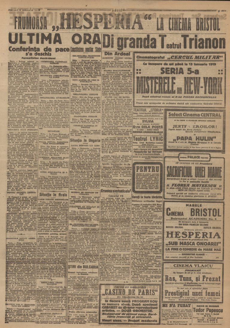 4.Legitimație de presă de la ceremonia de semnare a Tratatului de Pace cu Germania, Versailles, 28 iunie 1919